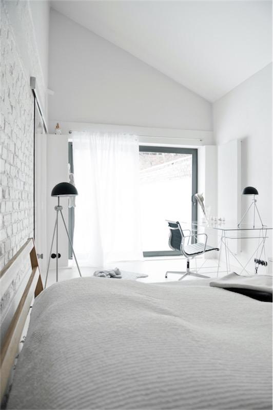 dormitorio con zona de trabajo chicanddeco