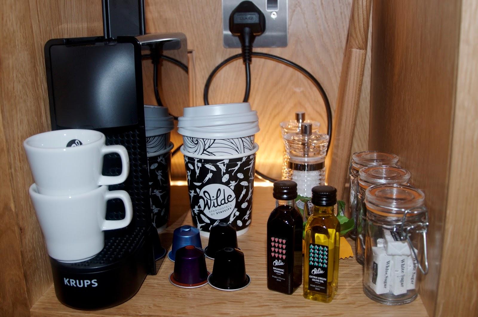 Wilde Aparthotels by Staycity coffee station