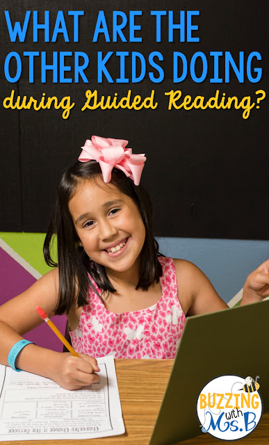 So you've planned your guided reading schedule, but you're not sure about what the other kids are doing during guided reading. These ideas will get you ready! Help your students learn to be independent during this time with a posted schedule, a purpose for reading, independent reading book choices that work for your kids, and expectations that make it clear what they should be doing. Minimize misbehavior with this approach.