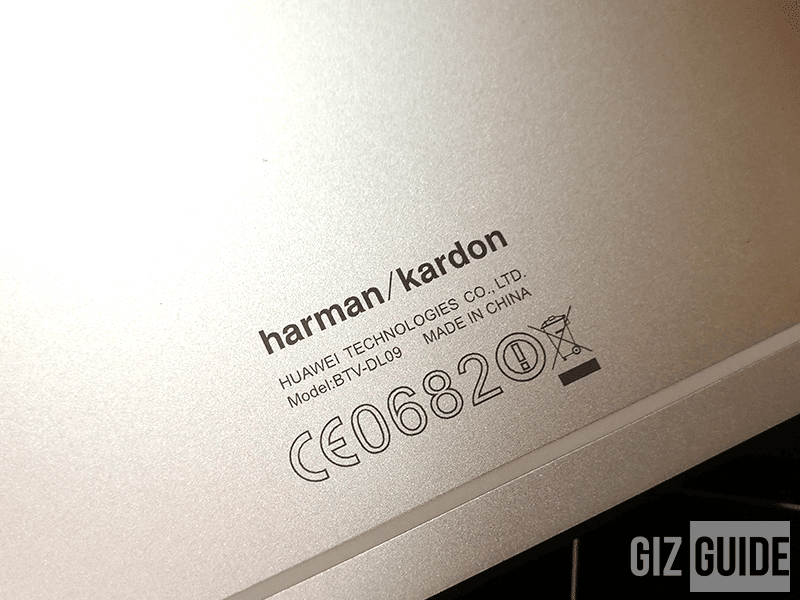 Huawei x Harman Kardon audio