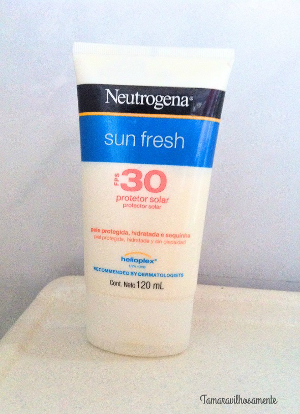 8 produtos de uso diário - protetor solar neutrogena