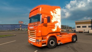 Dutch Skin for Scania RJL