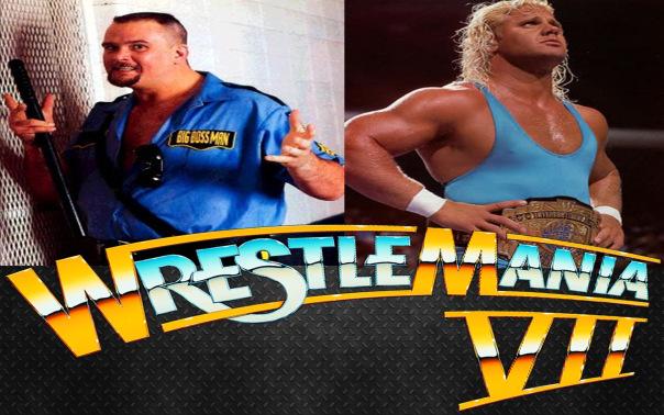WrestleMania: WrestleMania VII Ultimate Warrior Undertaker Bossman
