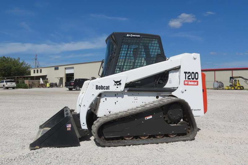 Hrg Equipment Corp Bobcat T200 Skid Steer For Sale
