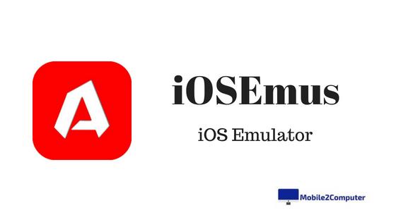 iOSEmus iOS Emulator