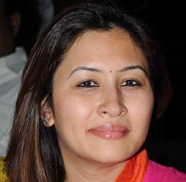 Badminton Player Jwala Gutta Smiling Face Closeup Photos