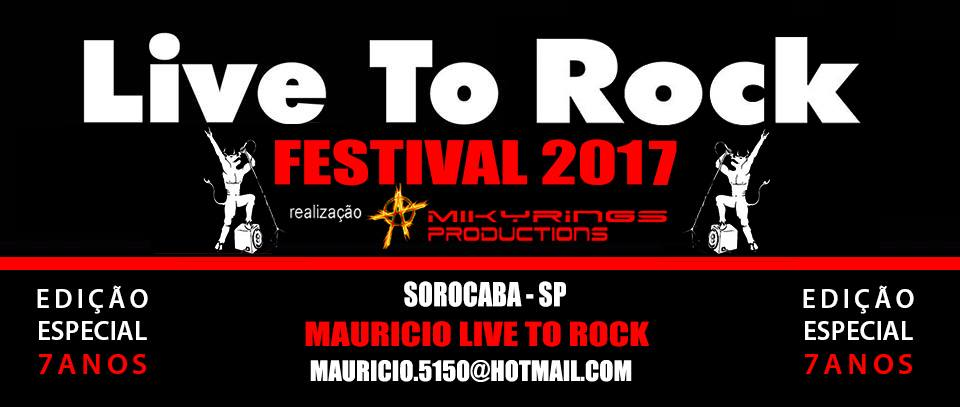 FESTIVAL LIVE TO ROCK