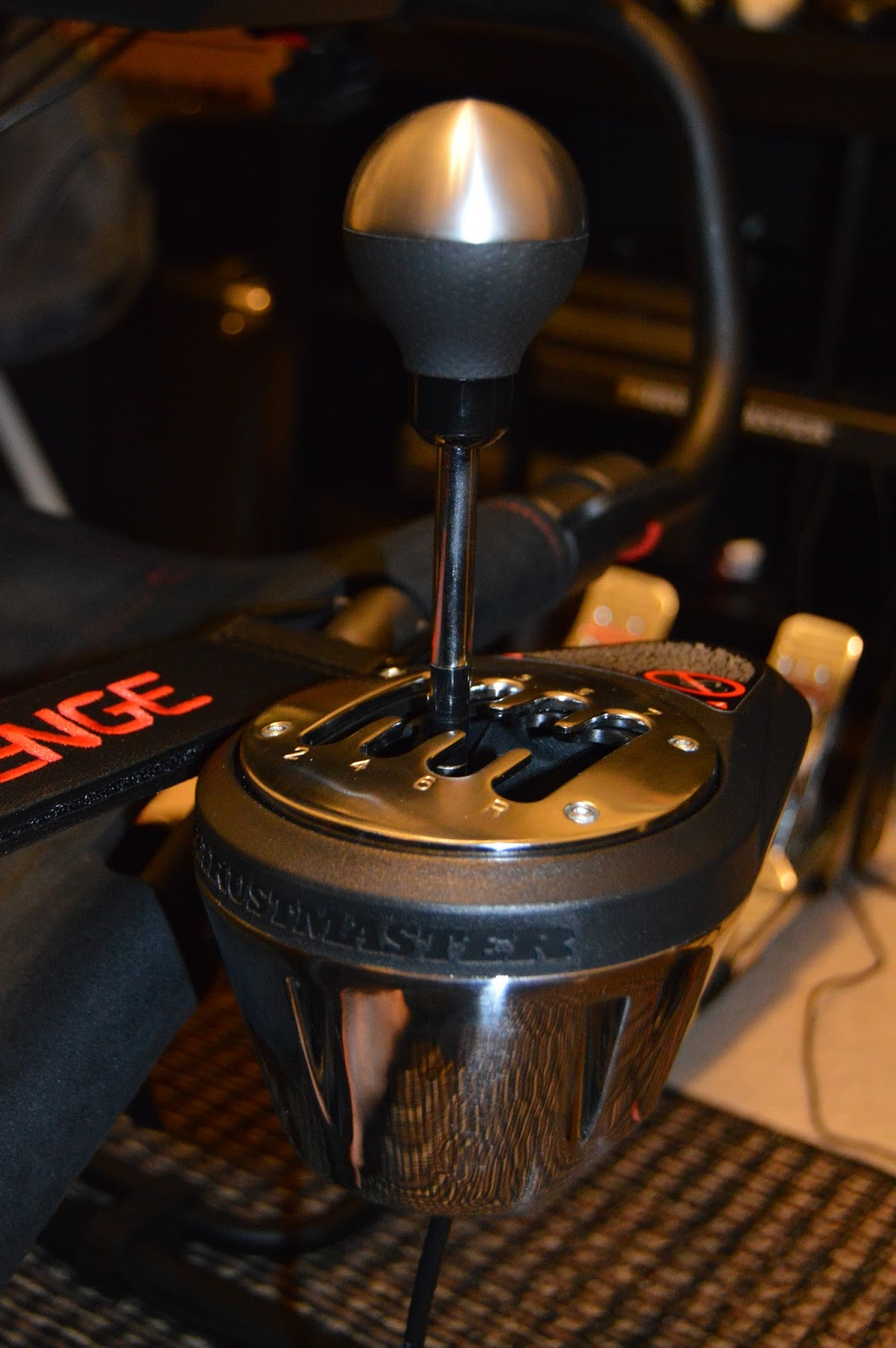 StudioYale: Thrustmaster TH8A Shifter Review