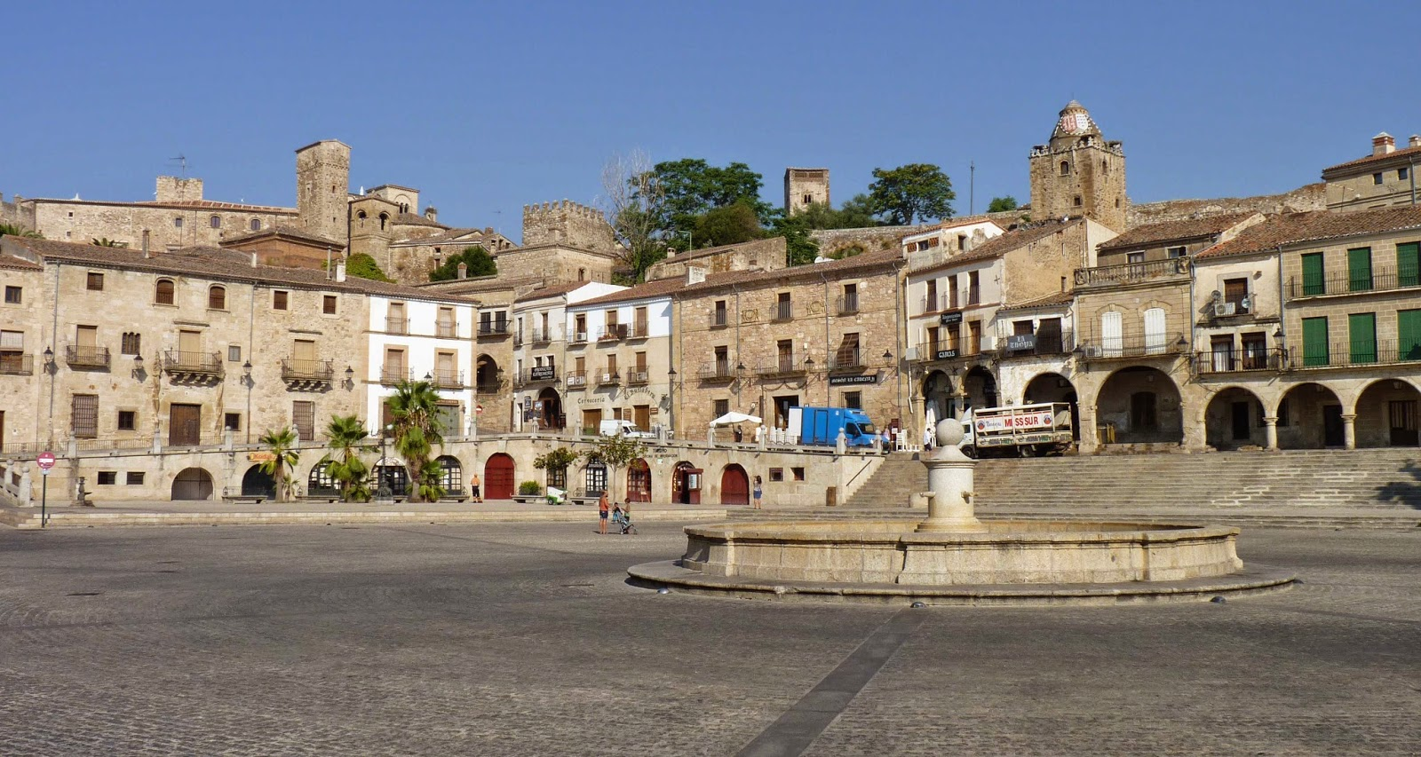 Plaza Mayor de Trujillo.