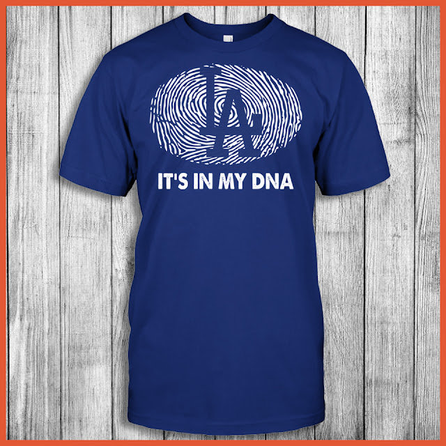 Los Angeles Dodgers - It's In My DNA T-Shirt