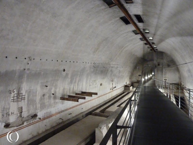 Another view of the tunnel system under the Berghof Germany