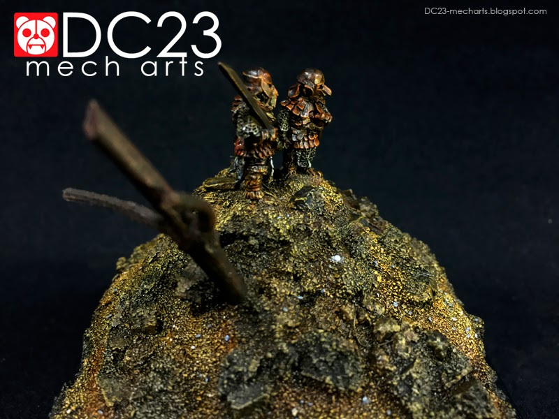 Games Workshop Sam and Frodo in Orc Armor verDC23photo