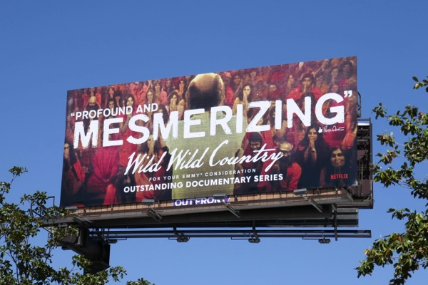 Wild Wild Country Emmy FYC billboard