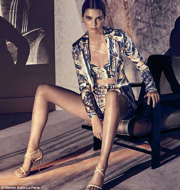 Kendall Jenner for La Perla Latest Spring/Summer Campaign