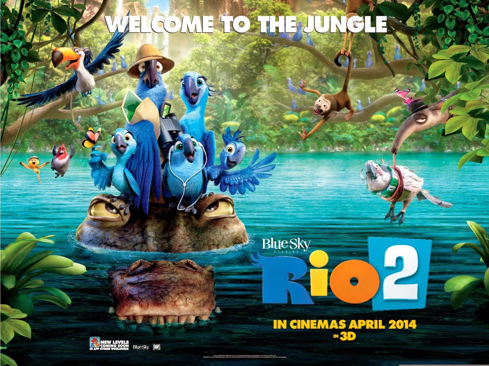 Hubbs Movie Reviews Rio 2 2014