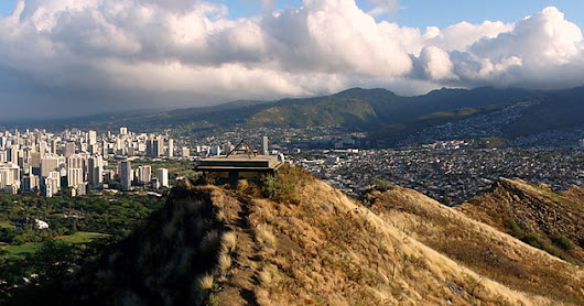Diamond head hike, eller tur opp Fraggleberget