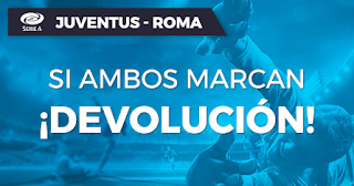 Paston promocion Juventus vs Roma 22 diciembre