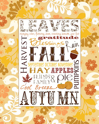Leaves Fall Printable from Smile Like You Mean It.