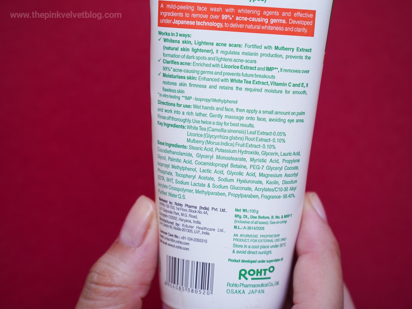 ACNES Face Wash Review