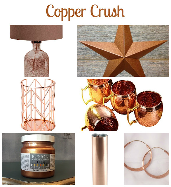 copper paint, copper decor, moscow mule. lamp, https://goo.gl/74Pu6T