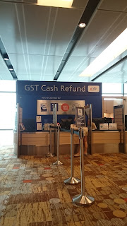 GST Cash Refund Changi Airport