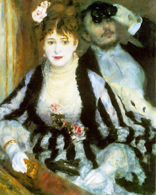 Renoir, El Palco, 1874
