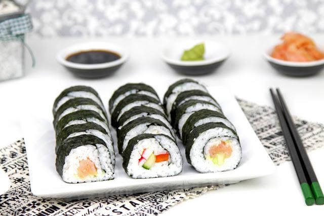 sushi, kuchnia japonska,