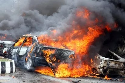 Gombe presidential rally car bomb blast