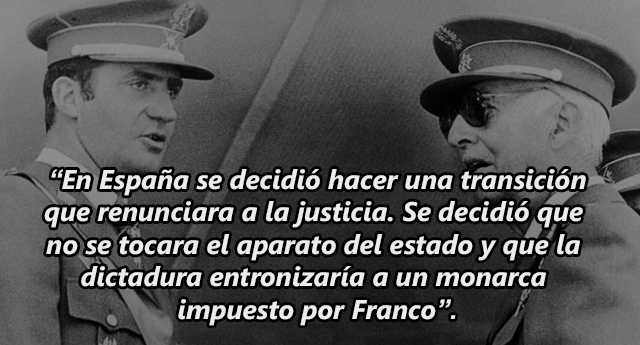 El atavismo franquista de la Justicia española