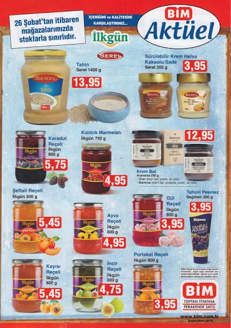 Bim Mağazaları'ndaki 26 Şubat Aktüel Ürünleri