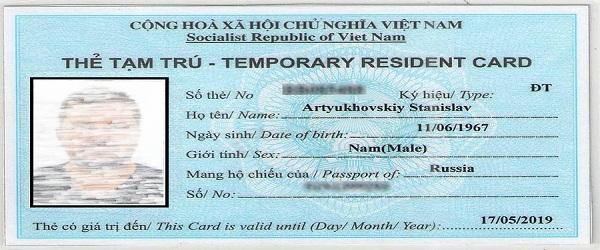 Kết quả hình ảnh cho how to get temporary residence card in vietnam