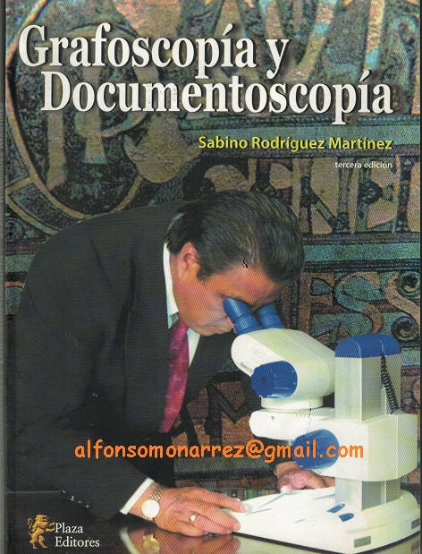 LIBROS EN DERECHO: GRAFOSCOPIA Y DOCUMENTOSCOPIA @tataya.com.mx 2020