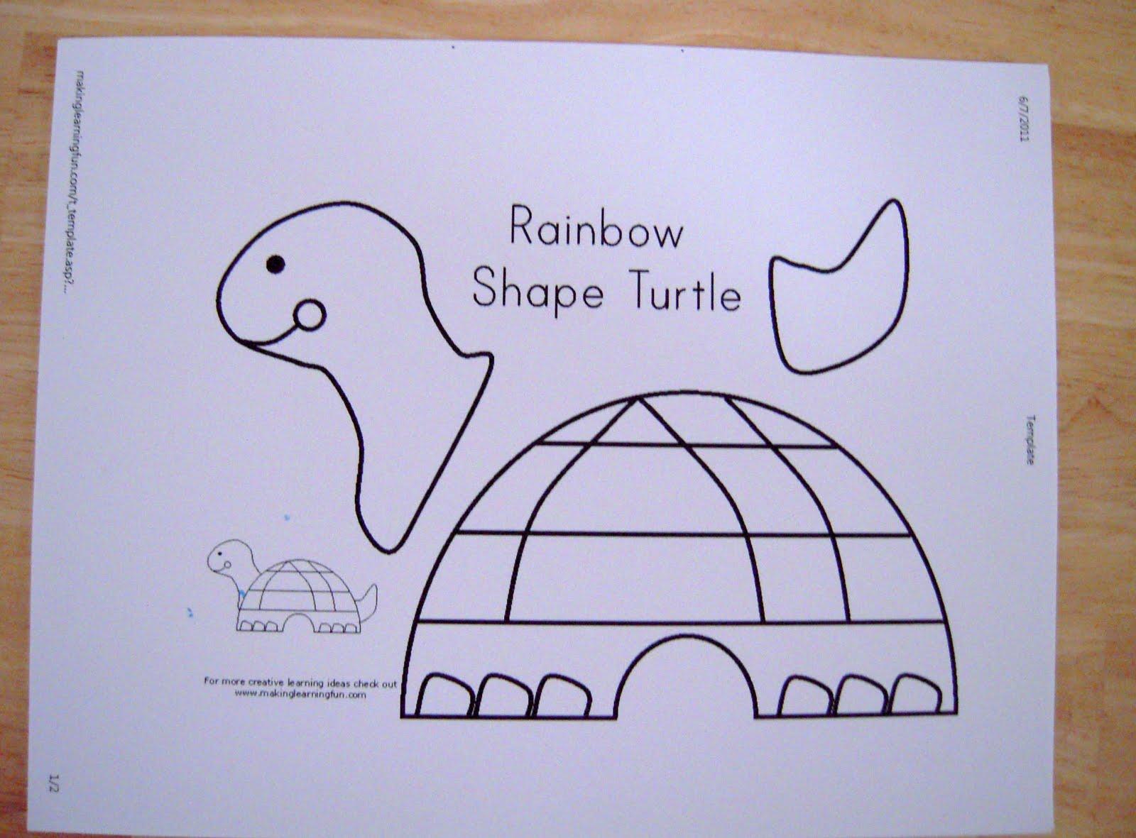 La La S Home Daycare Turtle Spin Art