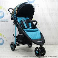 Kereta Bayi Lightweight BabyElle BS-S503 Bravo Travel System