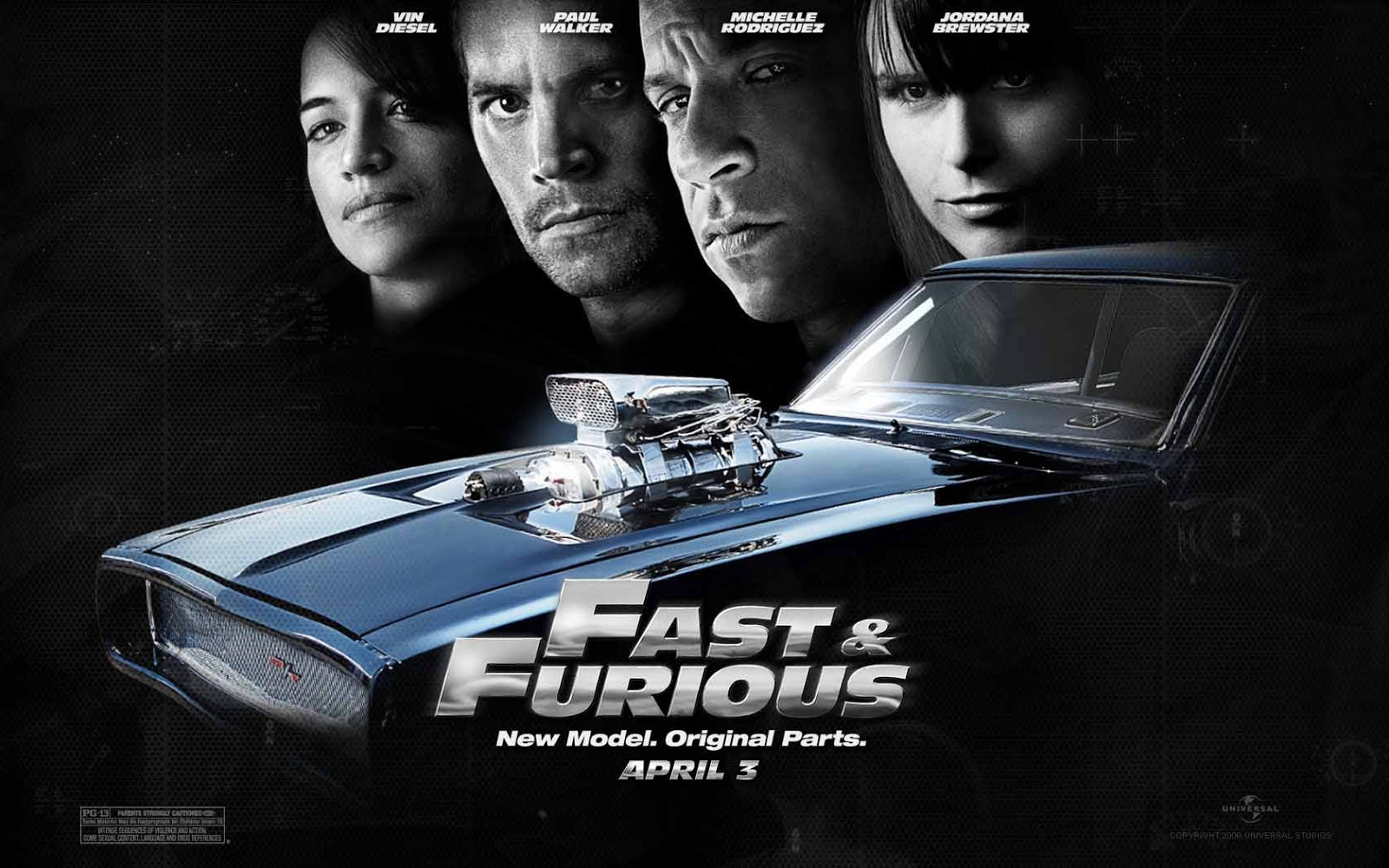 Fast And The Furious 7 Wallpaper: Wallpaper Film Fast And Furious 6