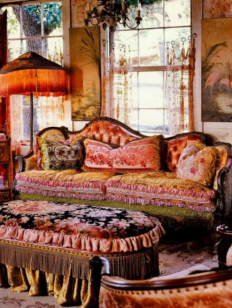 House Beautiful: The 9 Boho Chic Interior Design Ideas ...