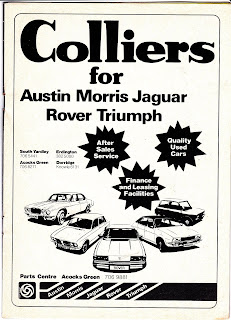 Colliers Advert from 1979