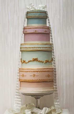 Innovative Cake Designs Vintage Inspired Wedding Cakes