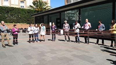 Circo tejeRedes en Instituto de Innovación Social de ESADE