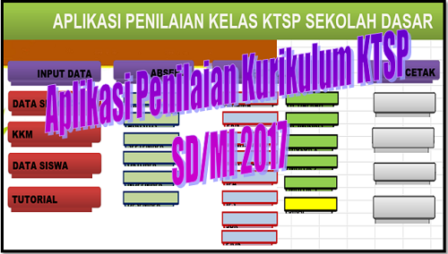 Aplikasi Penilaian Kurikulum KTSP SD/MI 2017
