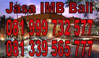 Jasa IMB Denpasar Badung Gianyar Tabanan Bali