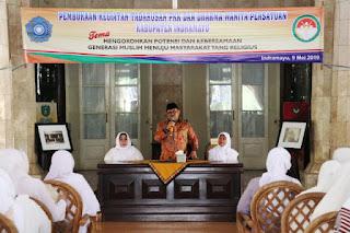 Tim Penggerak PKK Bersama Dharma Wanita Persatuan Gelar Tadarus Selama Bulan Rhamdhan  1440 H
