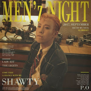 Lirik Lagu P.O (Block-B) - MEN`z NIGHT (Feat. Chancellor) Lyrics