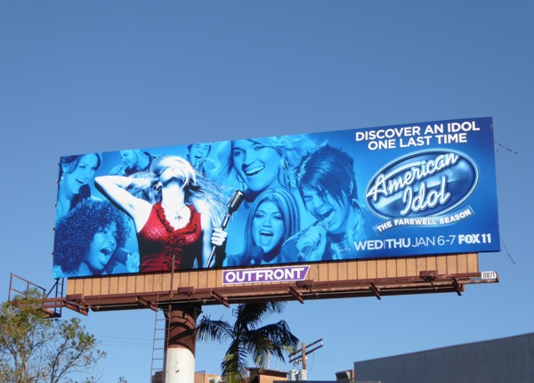 American Idol final season 15 billboard
