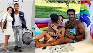 Ο Νίκος Αναδιώτης γιορτάζει την επέτειο με τη γυναίκα του και ανέβασε μια τρυφερή οικογενειακή φωτογραφία