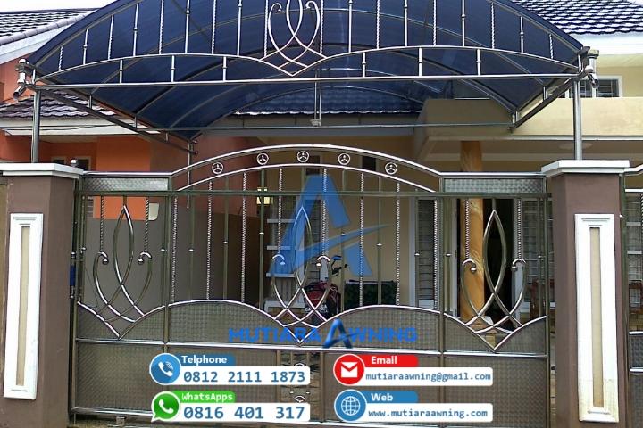Pagar Rumah Minimalis Stenlis  model pagar stenlis minimalis terlengkap untuk rumah