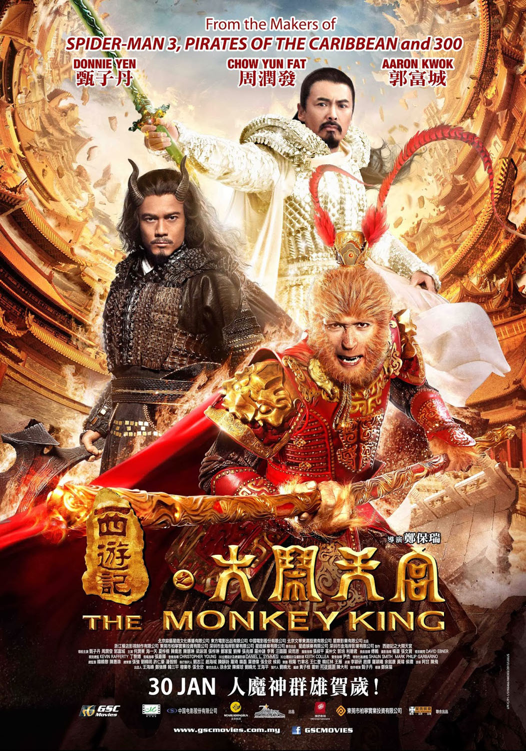 Nonton Film The Monkey King (2014)
