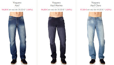 Jeans chico 14 euros