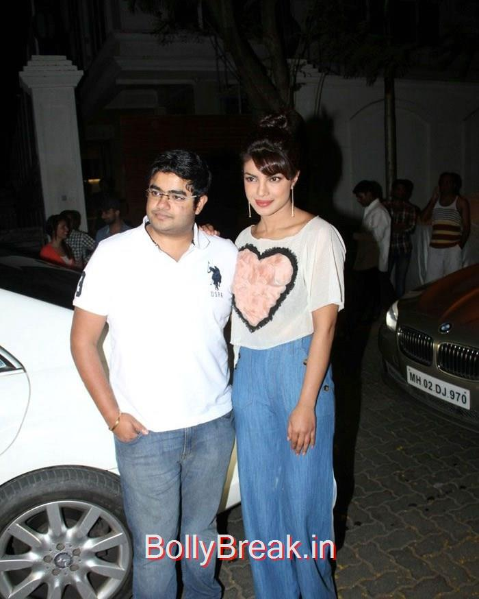 Siddharth Chopra, Priyanka Chopra, Hot Pics of Priyanka Chopra, Shilpa Shetty From 'Dil Dhadakne Do' Trailer Launch at Anil Kapoor Residence