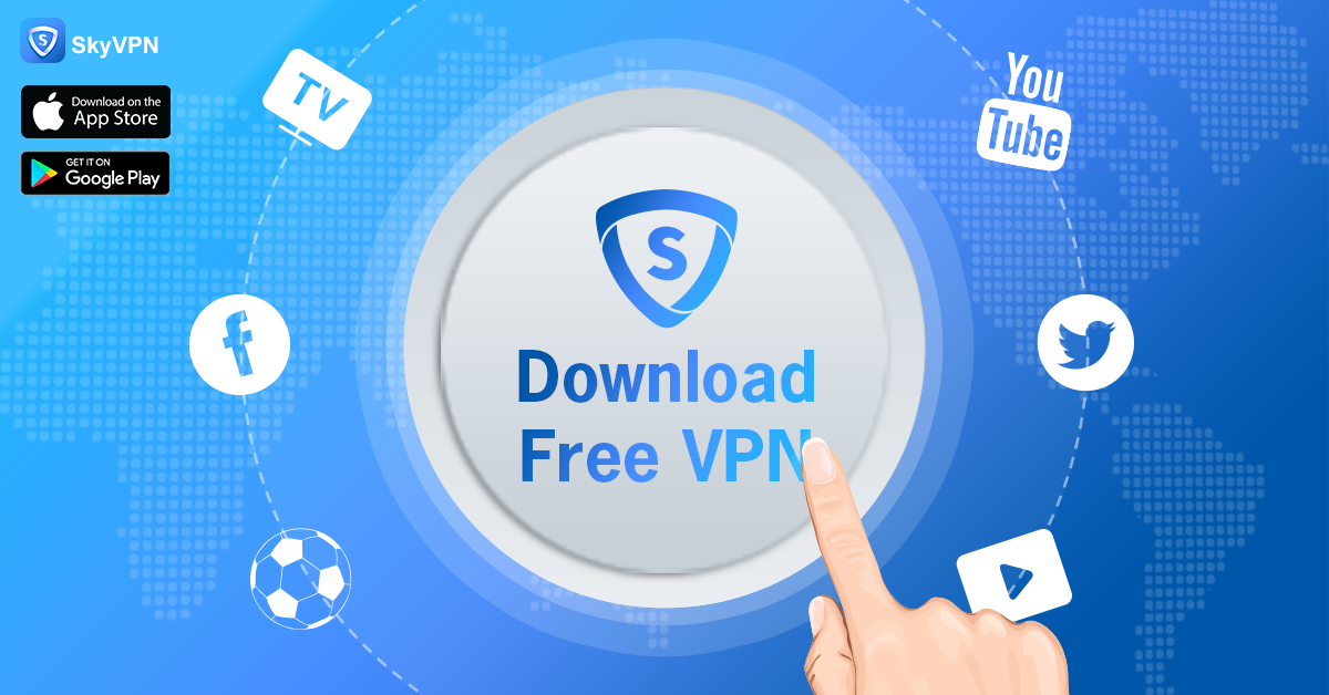Millions of People Are Enjoying Free Internet with SkyVPN in